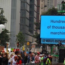 310,000 Take to the Streets of NYC for Largest Climate March Yet