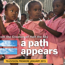Media Not to Miss: A Path Appears-Upcoming PBS Series plus Half The Sky-Bestselling Book