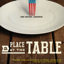 Recommended Film: A Place At The Table (From the makers of Food, Inc.)