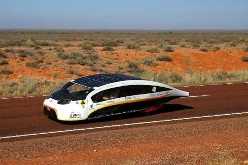 Futuristic solar-powered Dutch family car hailed 'the future'