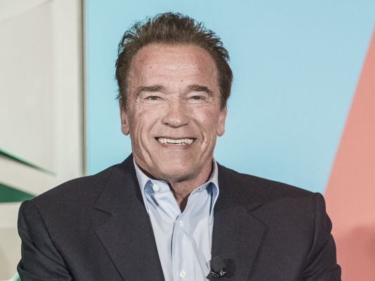 Schwarzenegger says he wants to sue global oil companies for first-degree murder