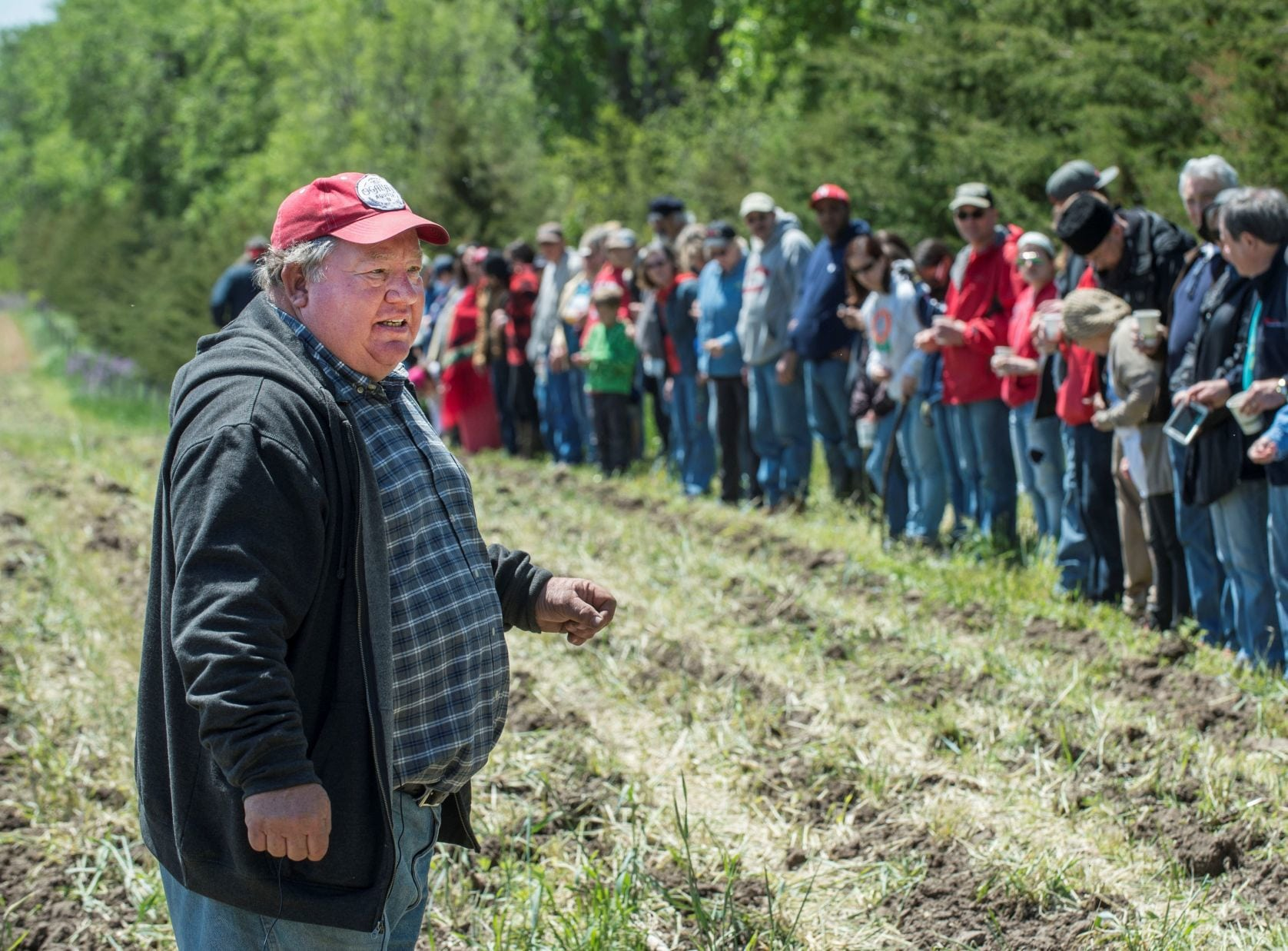 In possible roadblock for Keystone XL, pipeline opponents gift land to Ponca