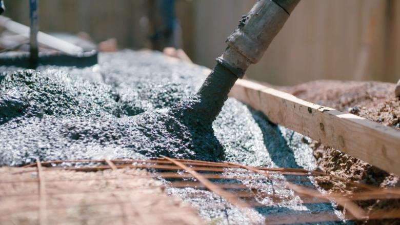 This concrete (yes, concrete) is going high-tech