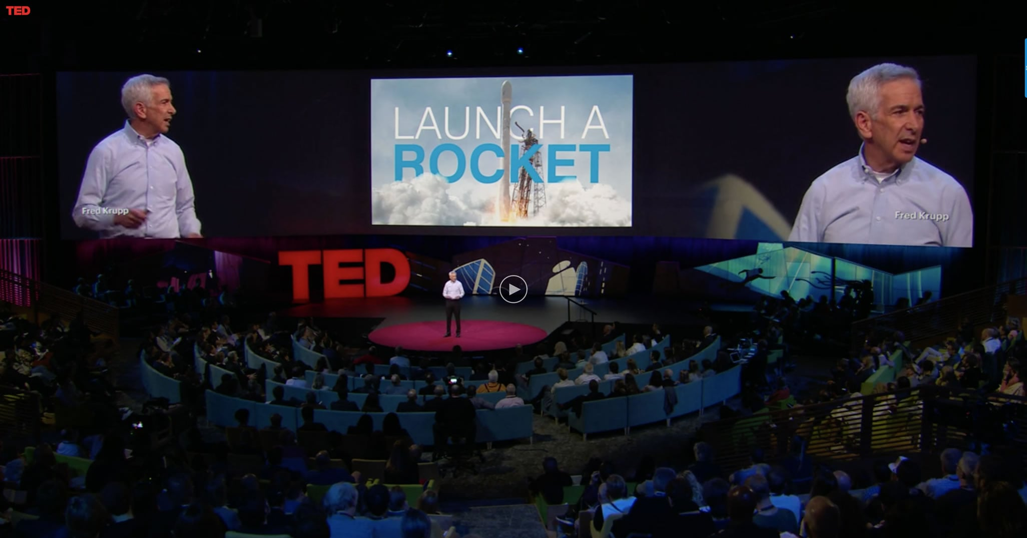 This TED Talk heralds a new era in fighting climate change, from space