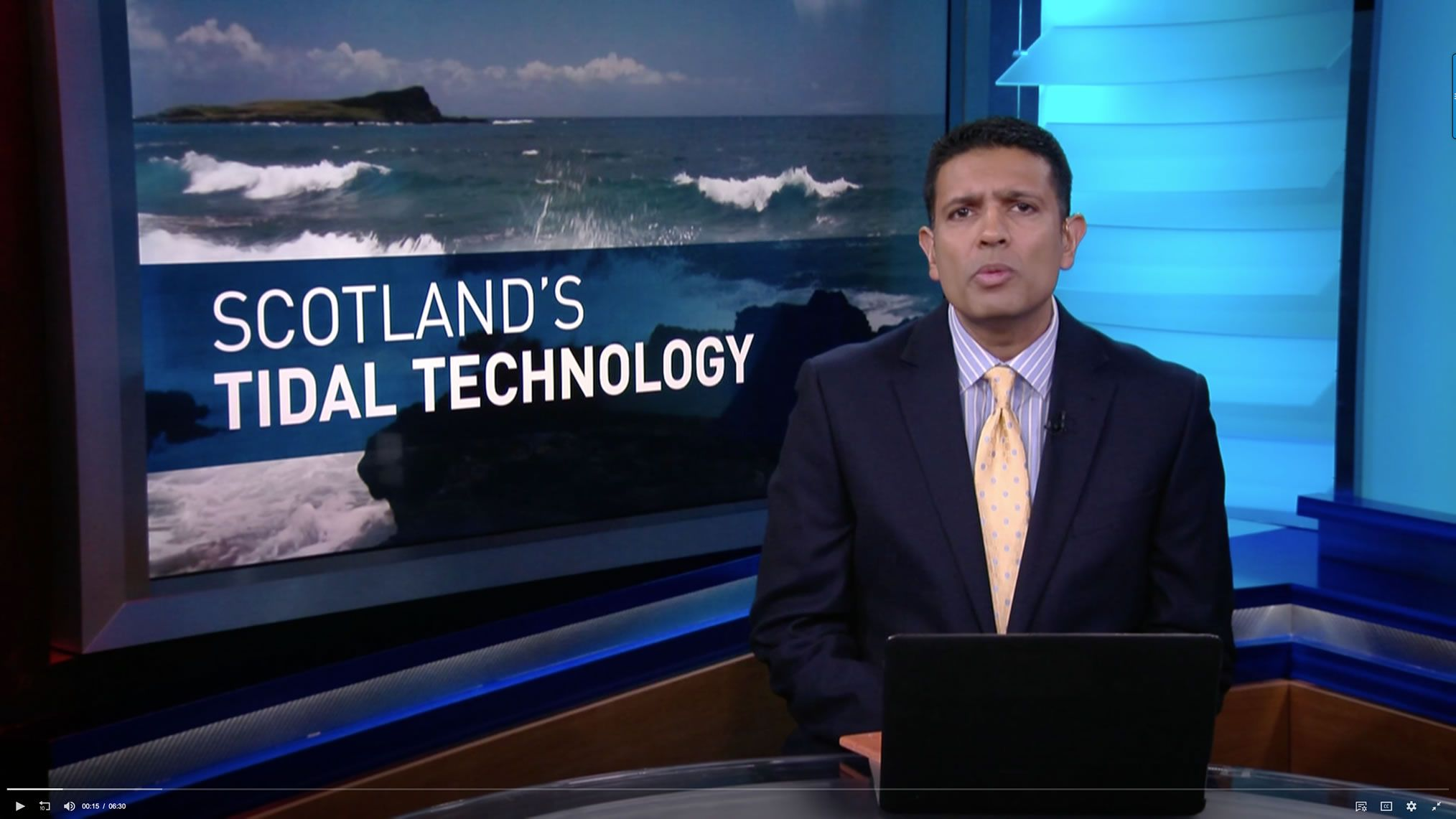 Scotland is betting on tidal energy