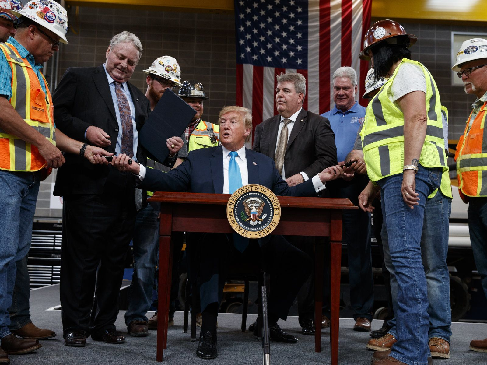 Trump Signs Executive Orders In Push To Make It Easier To Build Oil And Gas Pipelines