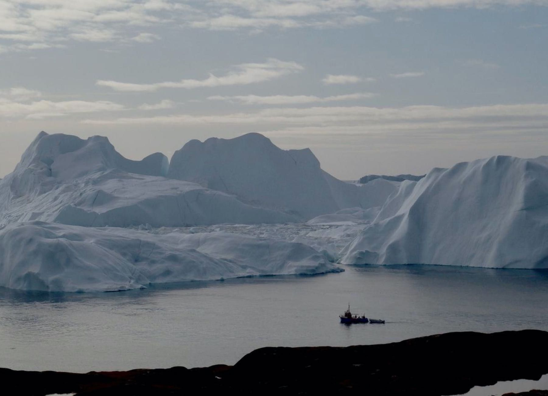 'Canary in the coal mine': Greenland ice has shrunk beyond return, study finds