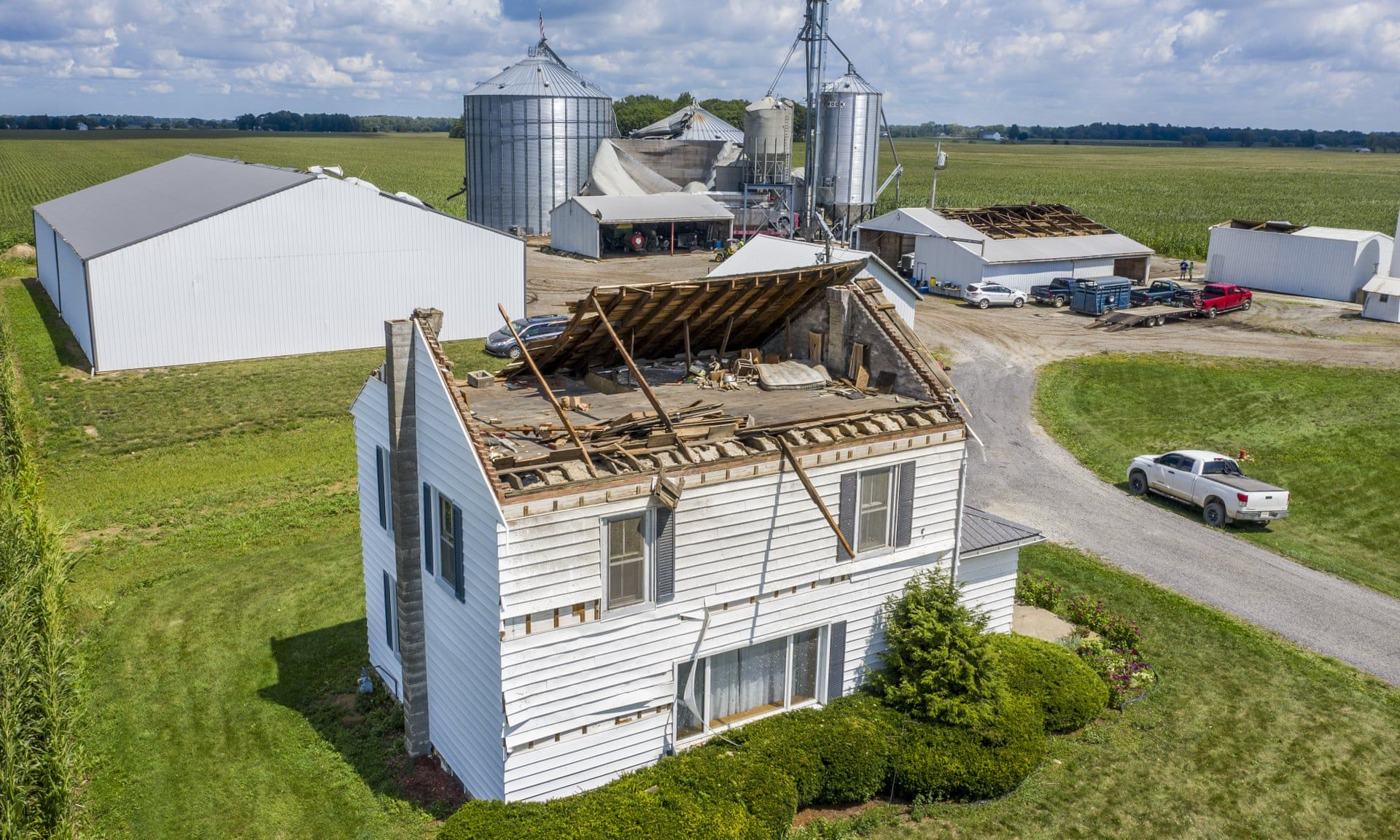 Extreme weather just devastated 10m acres in the midwest. Expect more of this