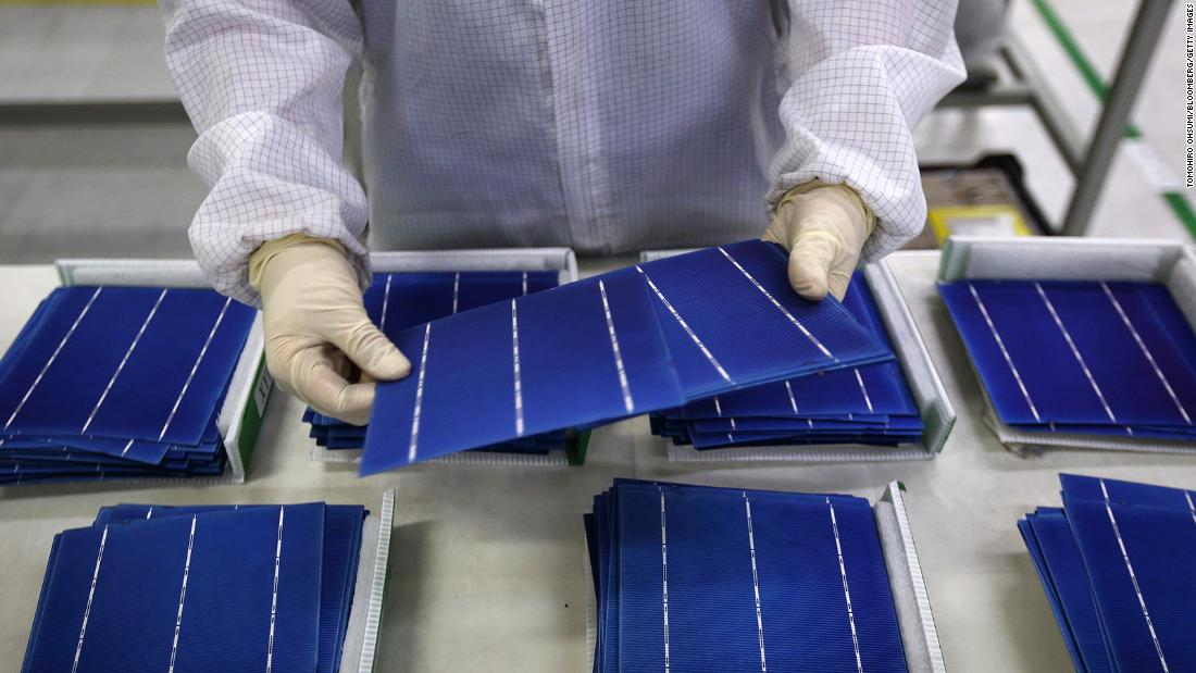 Solar panels are key to Biden's energy plan. But the global supply chain may rely on forced labor from China